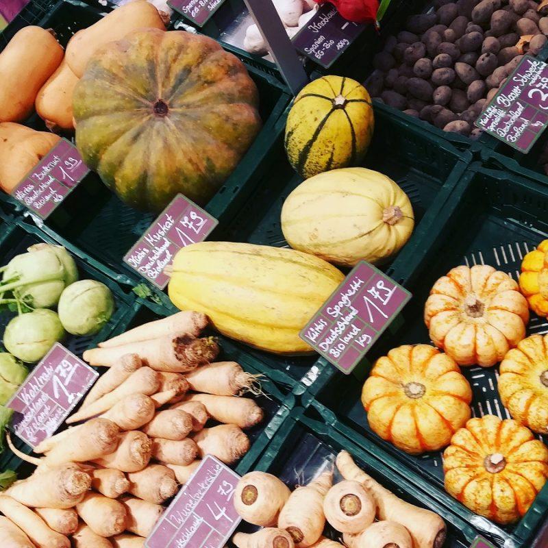 Diverse Gemüsesorten Vegetarier