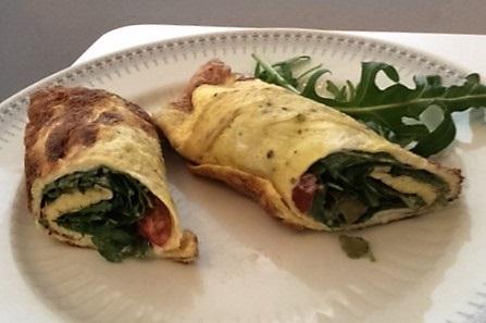 LCHF als Vegetarier - Uhuras vegetarischer Wrap