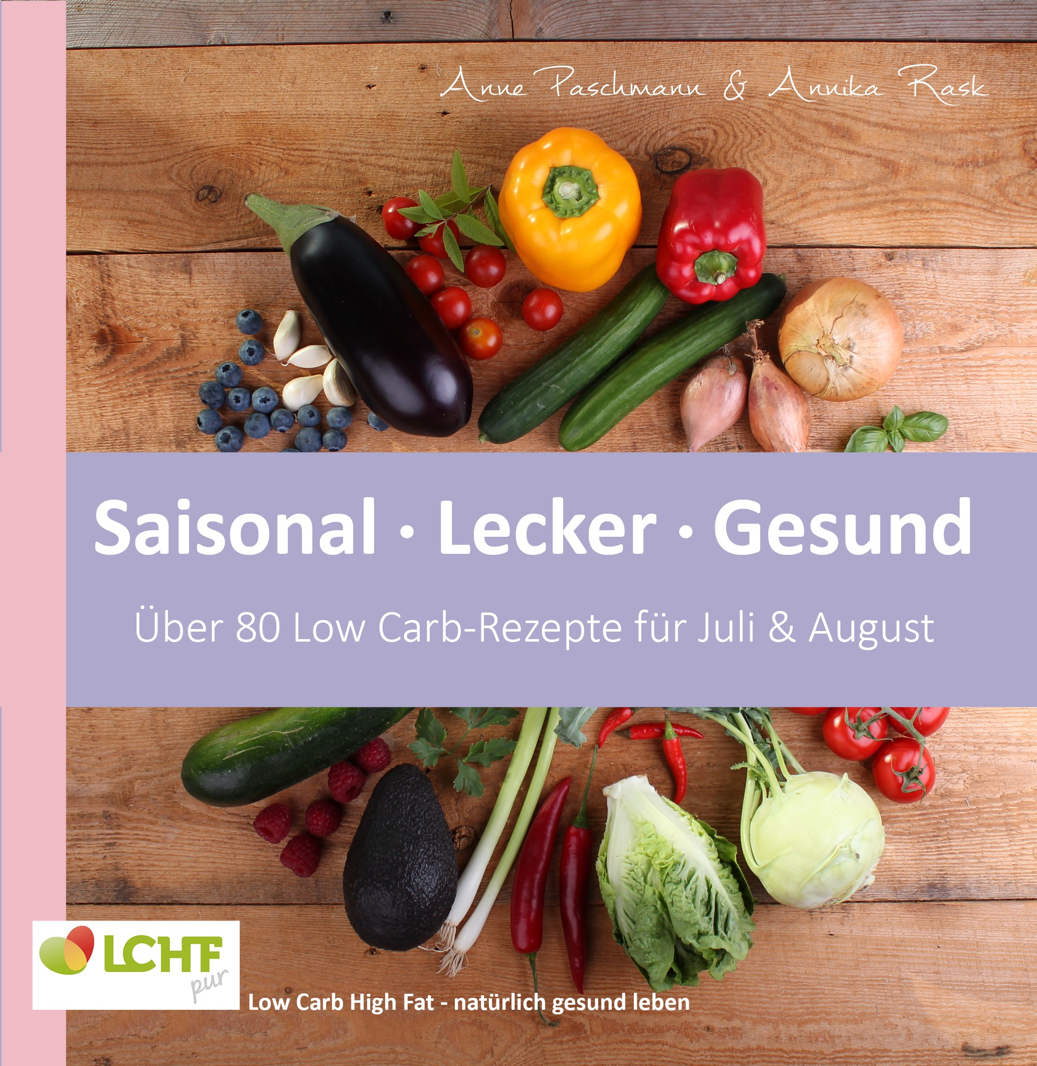 Cover LCHF pur Juli August