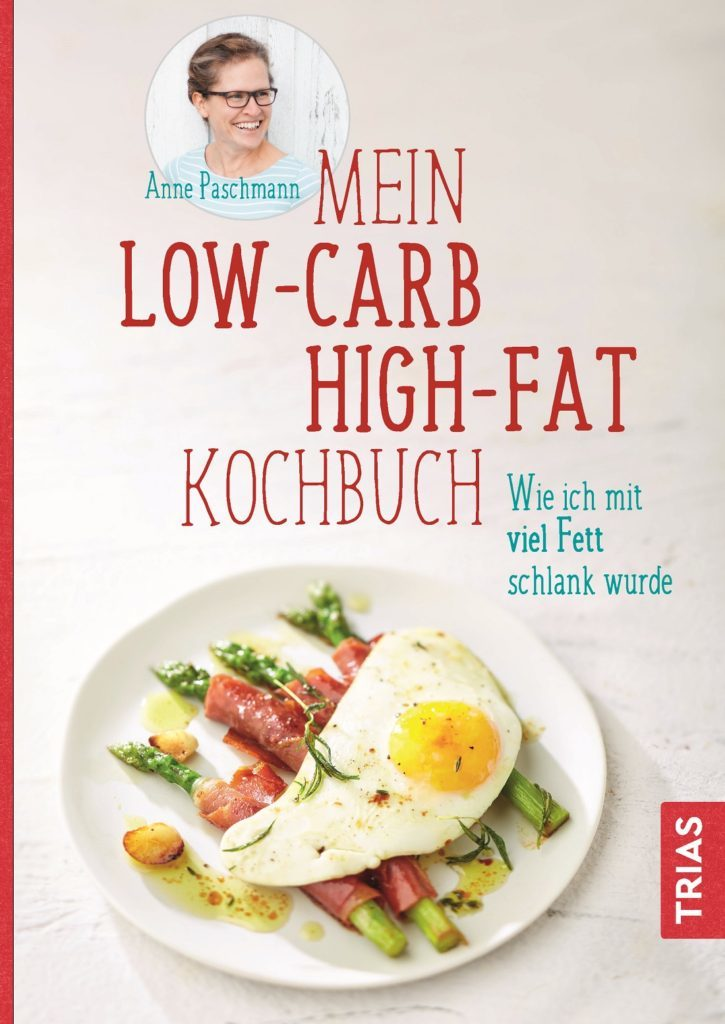 Mein Low-Carb-High-Fat Kochbuch - Foto vom Cover