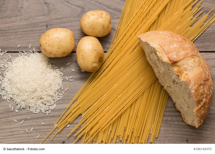 Ungeeignet bei LCHF - Pasta, Reis, Brot