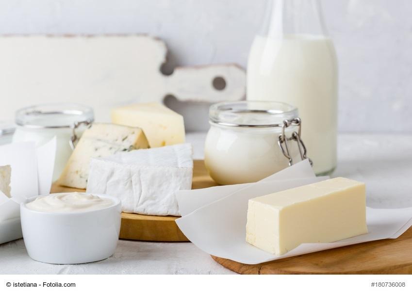 Eingeschränkt geeignet - Milchprodukte