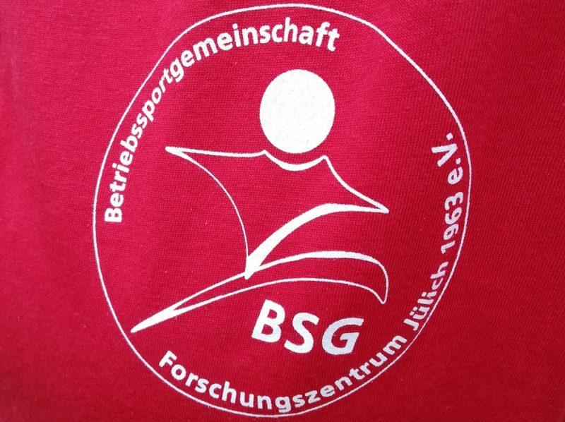 Logo BSG Forschungszentrum Jülich e.V. - mit Sport anfangen