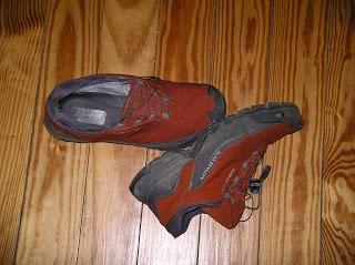 Meine Walkingschuhe - Ich hatte einen Lauf