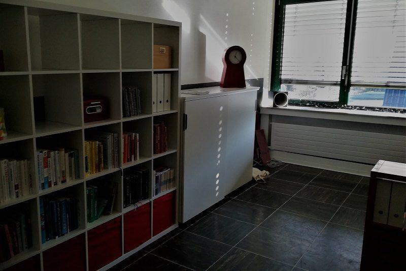 Das neue LCHFplus Büro - linke Raumseite