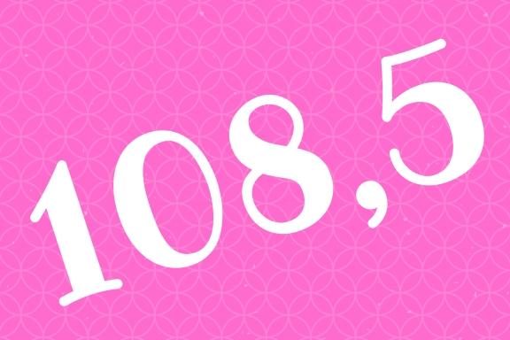 Zahlenbild 108.5 - so viel hat die Gruppe in 1 Monat LCHF abgenommen