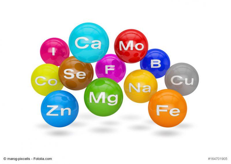 Vitamine und Mineralstoffe - Bild von Mineralstoffen