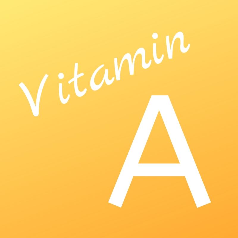 Vitamin A als Schriftbild