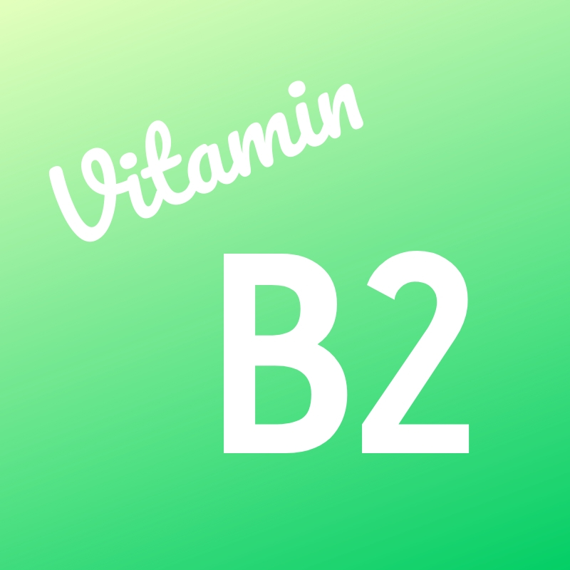 Wortbild Vitamin B2