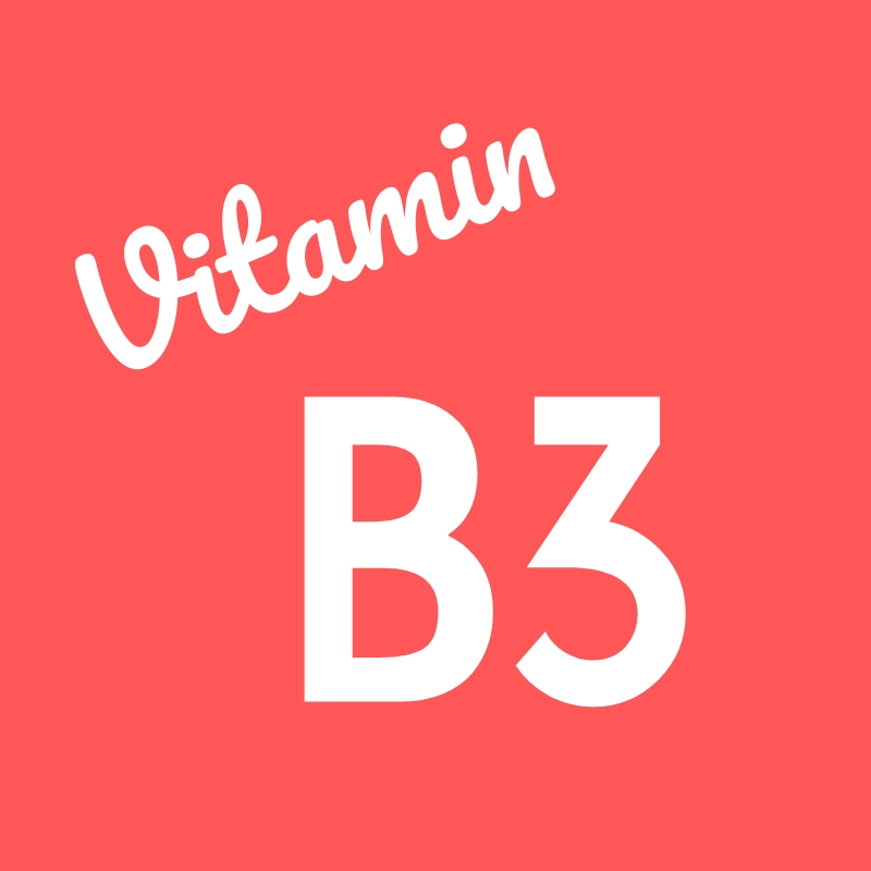 Wortbild Vitamin B3