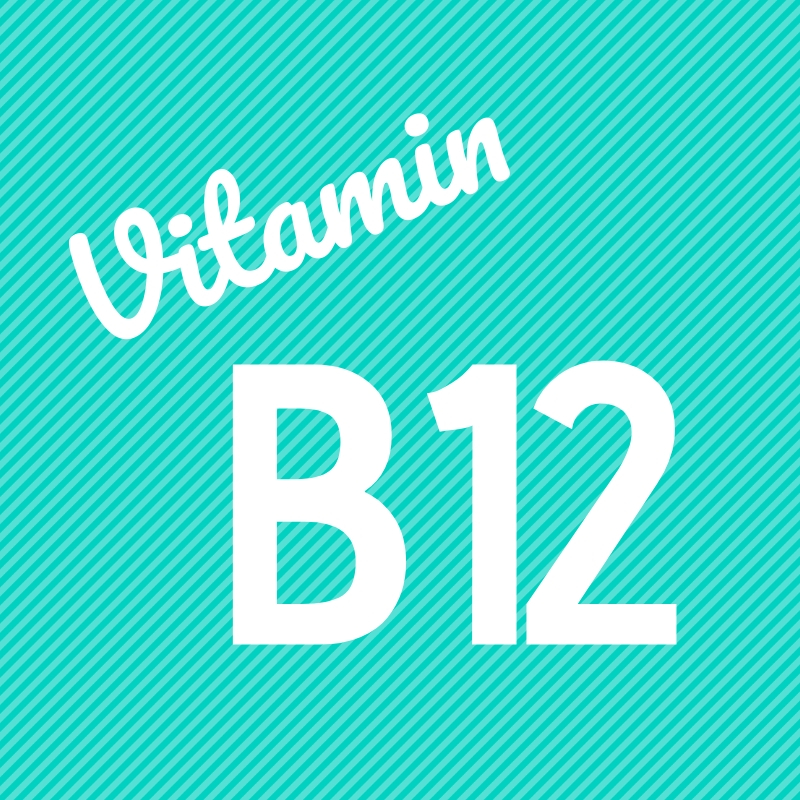 Wortbild Vitamin B12
