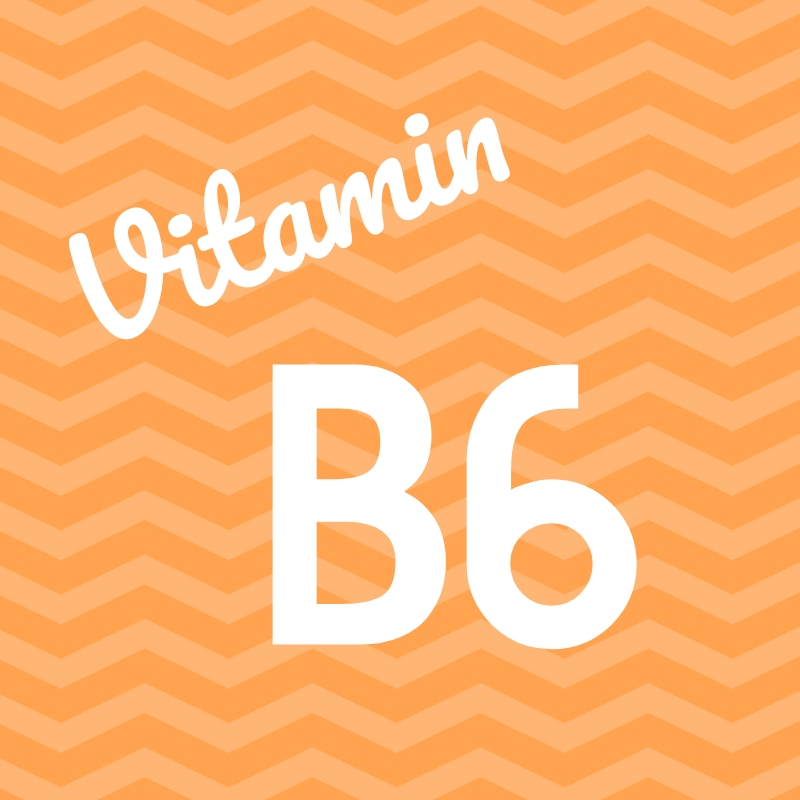 Wortbild Vitamin B6