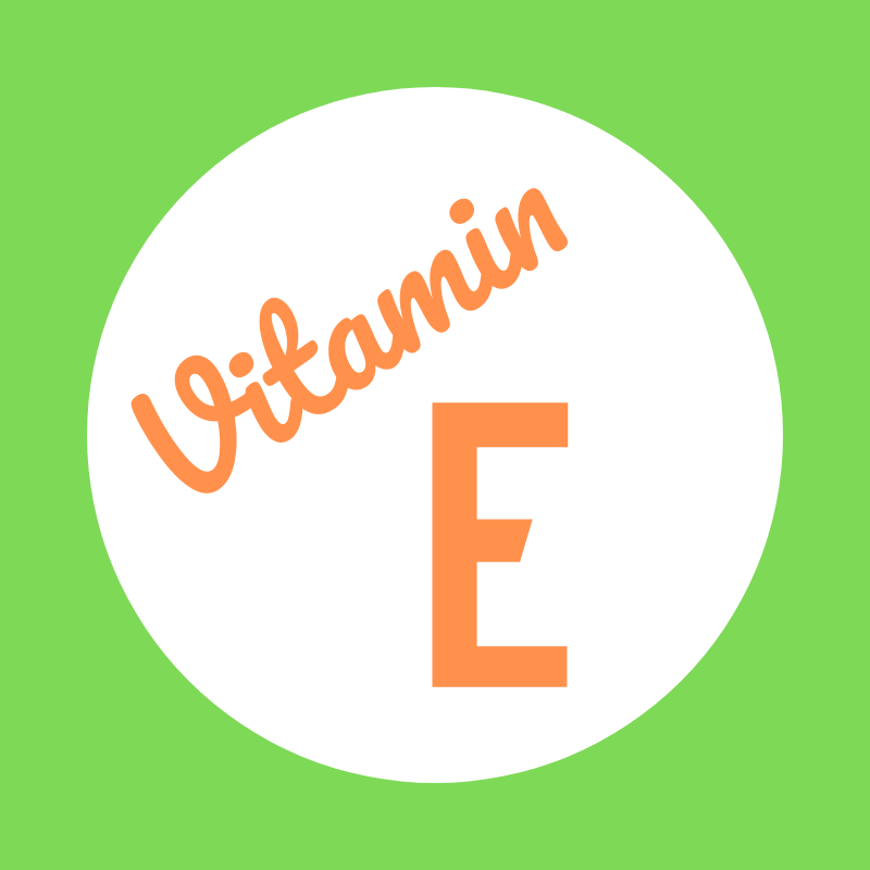 Wortbild Vitamin E