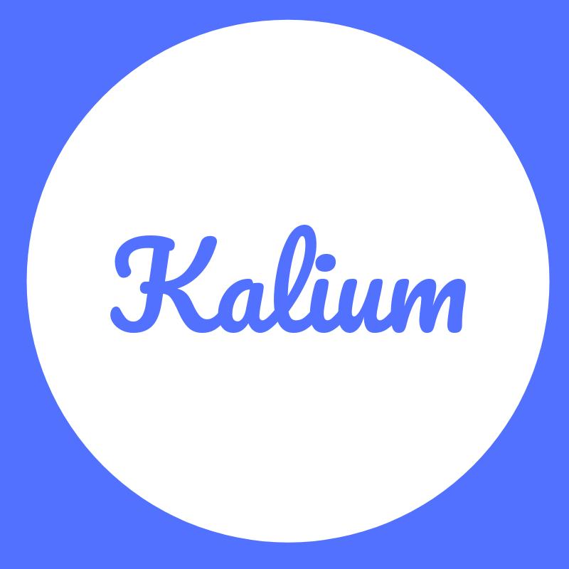 Wortbild Kalium