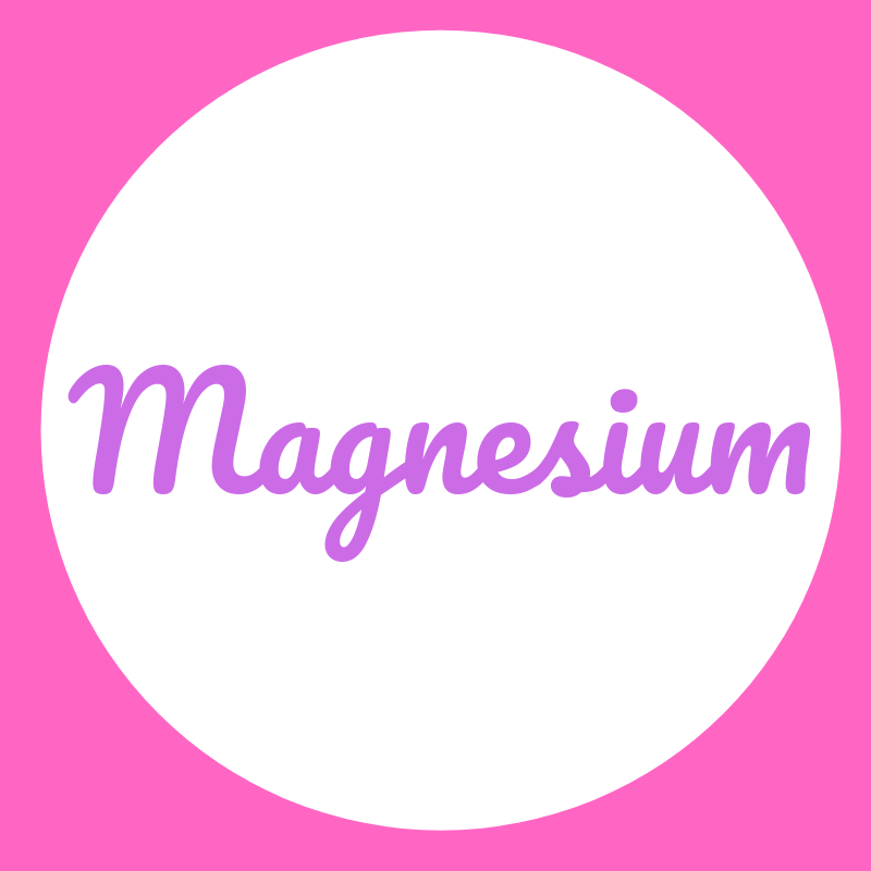Wortbild Magnesium