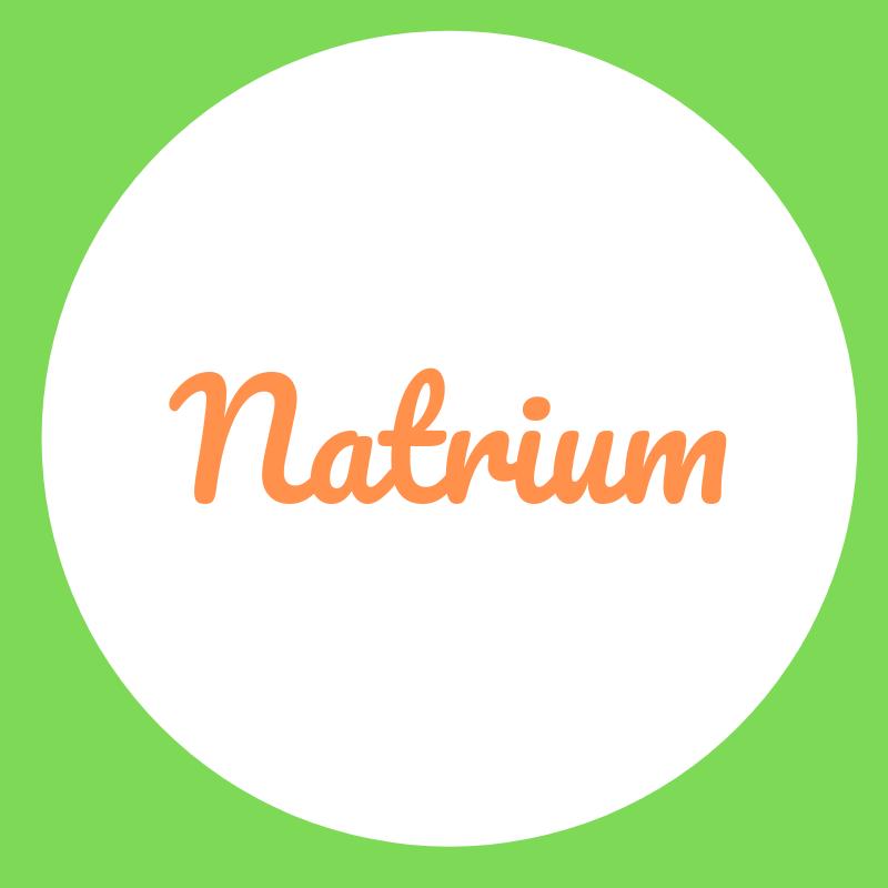Wortbild Natrium