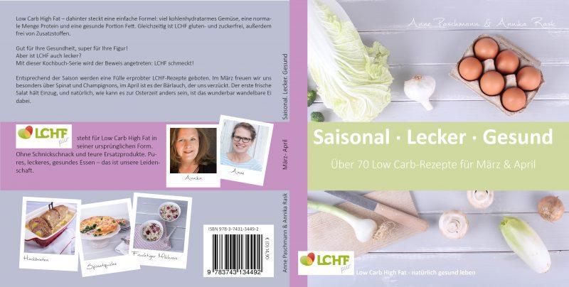 Ostereier natürlich färben ist ein Rezept aus unserem LCHFpur Kochbuch - hier ein Foto des Covers